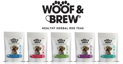 Woof & Brew Herbal Tea Bags Are The Perfect Detox For Dogs