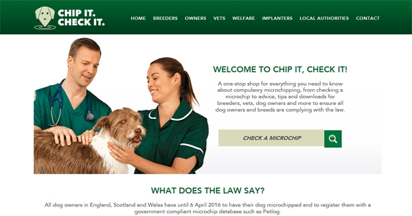 New Website Launches To Help Boost Awareness Of Compulsory Microchipping